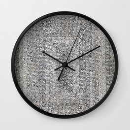 *  Azteka *  By: Matthew Crispell Wall Clock