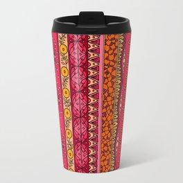 Yzor pattern 013 Summer Sunset Travel Mug