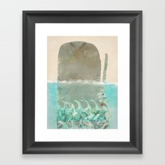into the wild the whale Framed Art Print