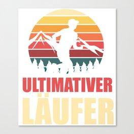 Ultimate Runner - Marathon Canvas Print
