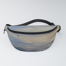 Beach with No Beginning  -   No End Fanny Pack