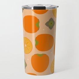Kaki fruit Time! Travel Mug