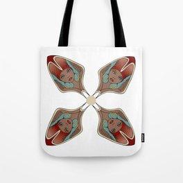 Floral Female Pattern Tote Bag