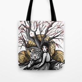 Godess of Creation Tote Bag