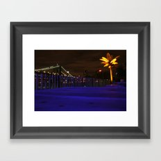 Heart Of New York Framed Art Print