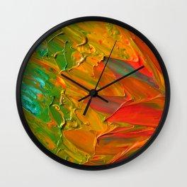 Lapeda Textile Art - 1 Wall Clock