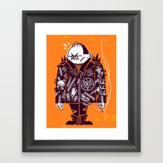 Bad Seed Framed Art Print