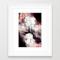 cyberpunk Framed Art Prints featuring Cyberpunk by TheTaserMonkey
