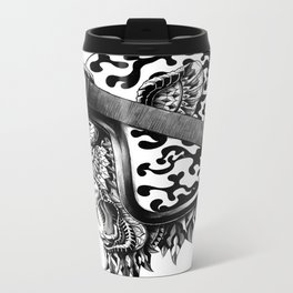 Tiger Helm Metal Travel Mug