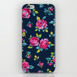 Raspberry Roses iPhone Skin