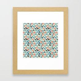 Mushroom Boom Framed Art Print
