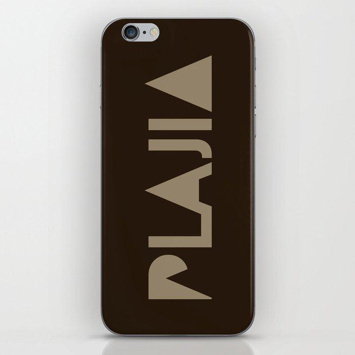 Plajia Logo iPhone Skin