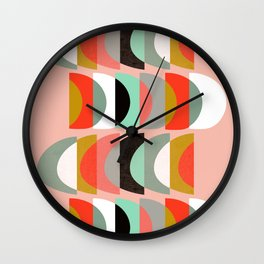 What Color Is The Moon II Wall Clock