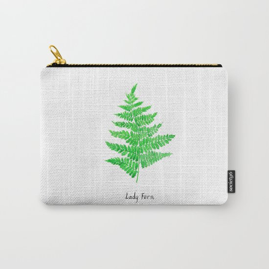 Lady fern Carry-All Pouch