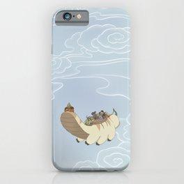 Team Avatar in the Sky iPhone Case