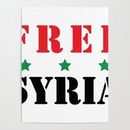 FREE SYRIA Poster