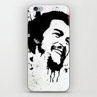 che iPhone & iPod Skins featuring Che by Cynthia Alvarez