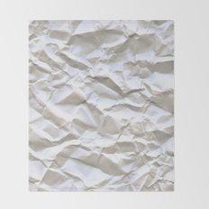 White Trash Throw Blanket