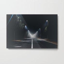 Moody roads Metal Print