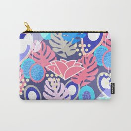 Tropical in blue light Carry-All Pouch