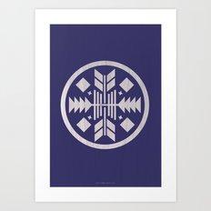 Aztec No. 3 Art Print