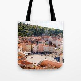 Mediterranean Summer Tote Bag