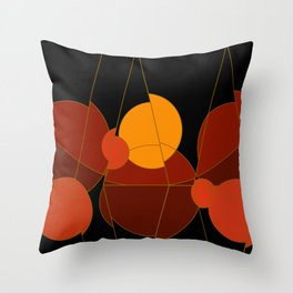 The Yellow One is the Sun Throw Pillow