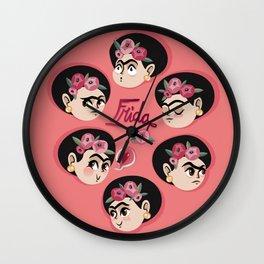 Frida's emotions Wall Clock