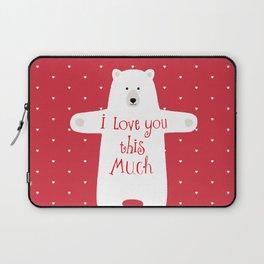 Bear hugs Laptop Sleeve