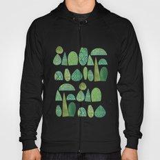 Watercolour Topiary Hoody