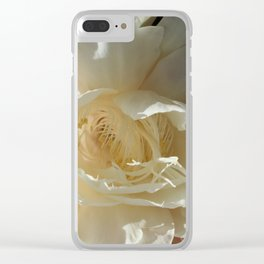 Night Blooming Cereus Clear iPhone Case