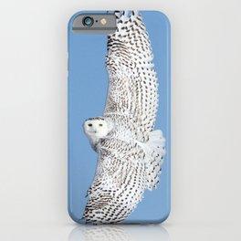 Flight of the goddess iPhone Case