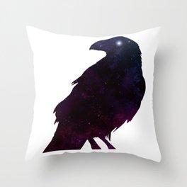 Watcher of the Night Throw Pillow