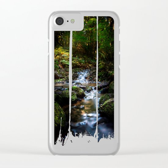 Reality lost Clear iPhone Case