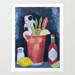 Best Bloody in the Universe Art Print