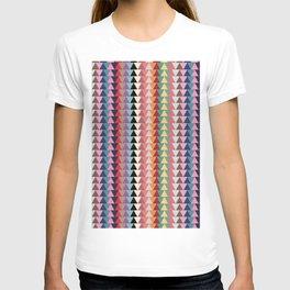 KILIM NO. 2 IN MULTI TRIANGLES T-shirt