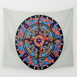Anchors and Chains Wall Tapestry
