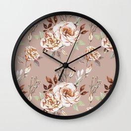 The calm - blush Wall Clock