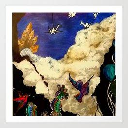 Ethereal Freedom Art Print