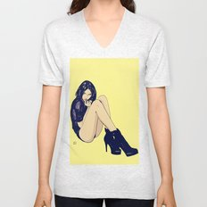 Legs and shoes Unisex V-Neck