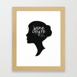 Jane Eyre Is My Spirit Animal Framed Art Print