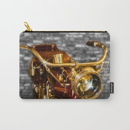Old Motorcycle Carry-All Pouch