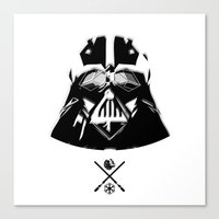 darth Canvas Prints featuring Darth. by Glassy