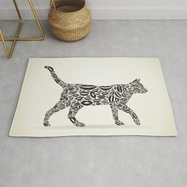 Cat from lips Rug
