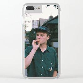 Mac Demarco Clear iPhone Case