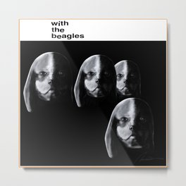 With the Beagles (Remastered) Metal Print