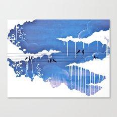 pouring Canvas Print