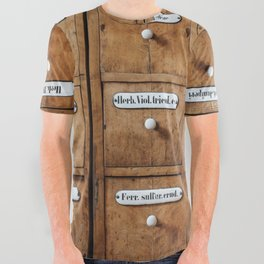 Pharmacy storage All Over Graphic Tee