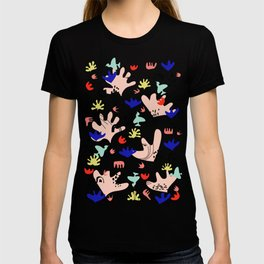 Colorful Land - Shapes Pattern T-shirt