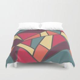 Geometric Colour Pattern V1 Duvet Cover